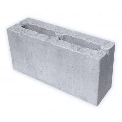 Полублок шлак+цемент 120х190х390