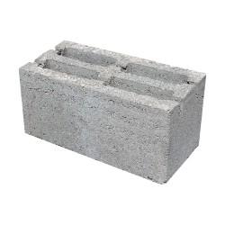 Блок шлак+цемент 190х190х390