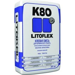 Высокоэластичная клеевая смесь LITOFLEX K80 25кг