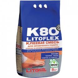 Высокоэластичная клеевая смесь LITOFLEX K80 5кг