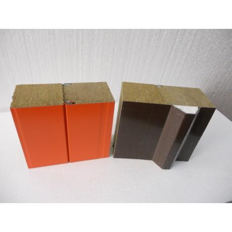 Кровельная сэндвич панель с утеплителем (минеральная вата)