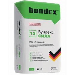 Плиточный усиленный клей Бундекс СИЛА